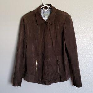 Bradley Bayou Brown Suede Jacket